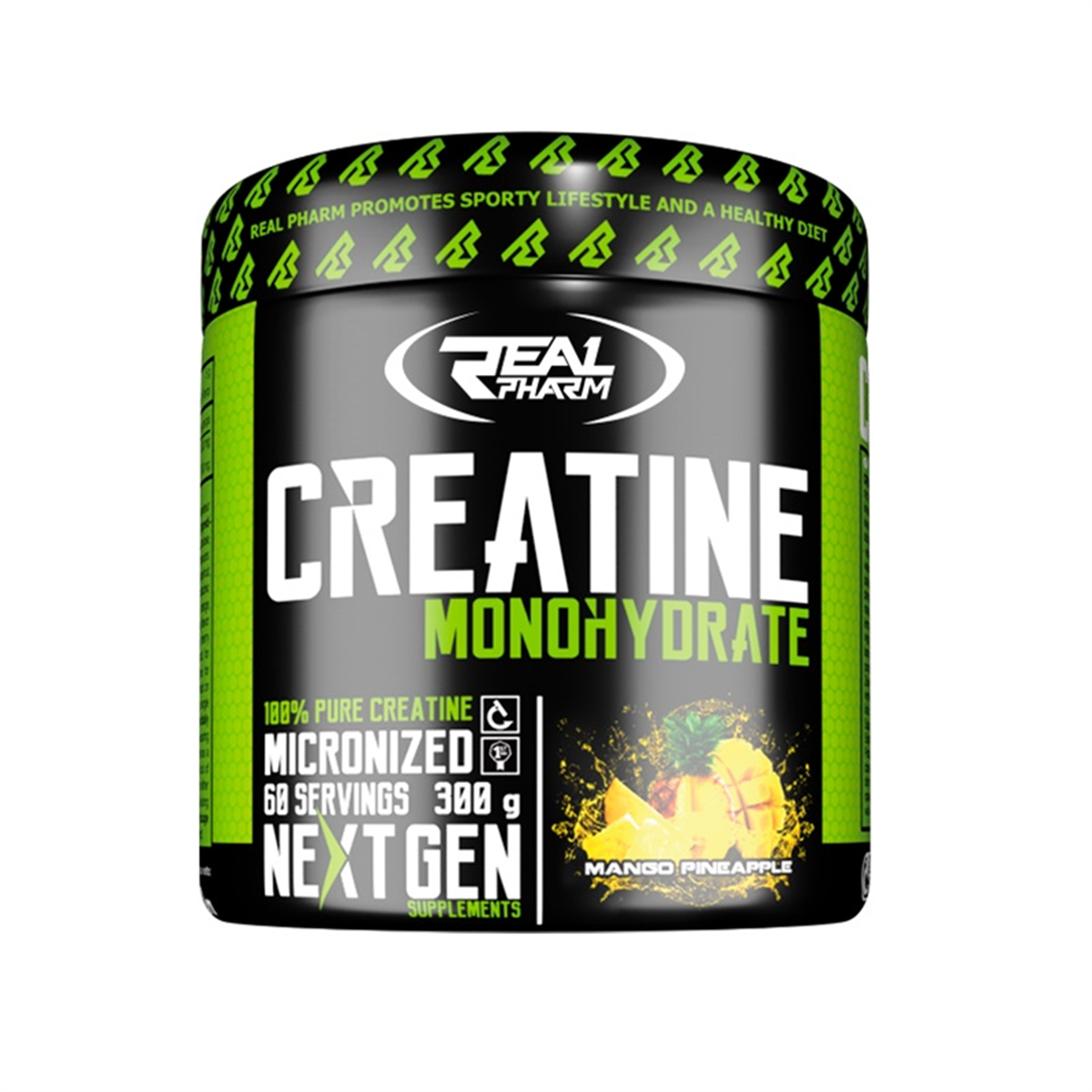 1076f866f8c1 39 PLN • Creatine Monohydrate 300g - Real Pharm • NAJTANIEJ • Sklep SFD