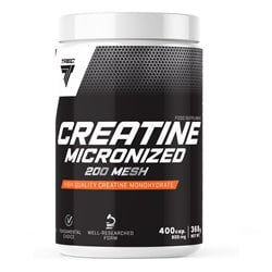 Creatine micronized 200 mesh - 400caps