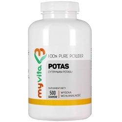 Cytrynian Potasu 100% Bez Dodatków