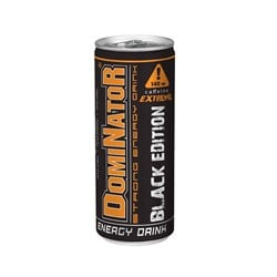 DOMINATOR - Strong Energy Drink BLACK EDITION