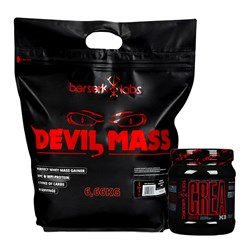 Devil Mass + Crea X3 - 6660g+400g