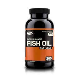 Enteric-Coated Fish Oil - 200kap