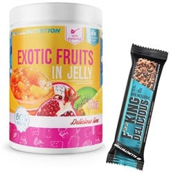 Exotic Fruits In Jelly 1000g + F**king Delicious Protein Bar 55g GRATIS