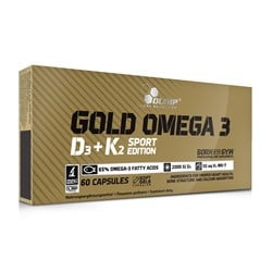 Gold Omega 3 D3 + K2 Sport Edition - 60caps