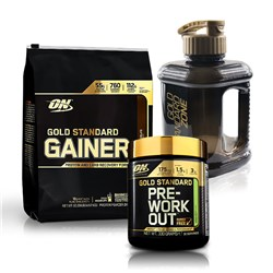 Gold Standard Gainer + Pre-Workout - 3230g+330g
