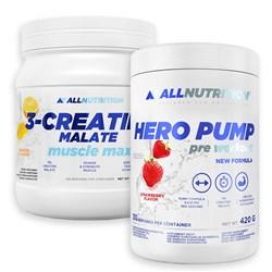 Hero Pump 420g + 3-Creatine Malate 500g