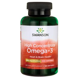 High Concentrate Omega-3 - 120softgels