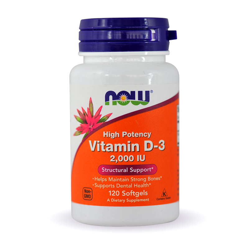 Now High Potency Vitamin D-3