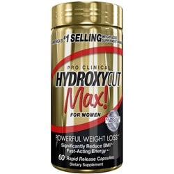 Hydroxycut Max Clinical - 60Rapid Release Caps