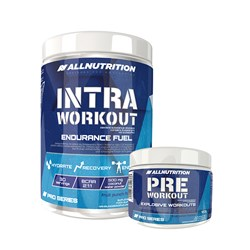 Intra Workout Pro Series + Pre Workout - 600g+120g