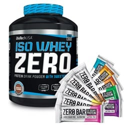 Iso Whey ZERO + 10x Zero Bar FLAVOUR MIX