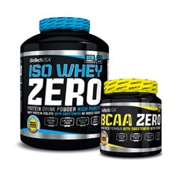 Iso Whey ZERO + BCAA Flash Zero - 2270g+360g