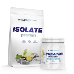 Isolate Protein + 3 Creatine Malate - 2000g+500g