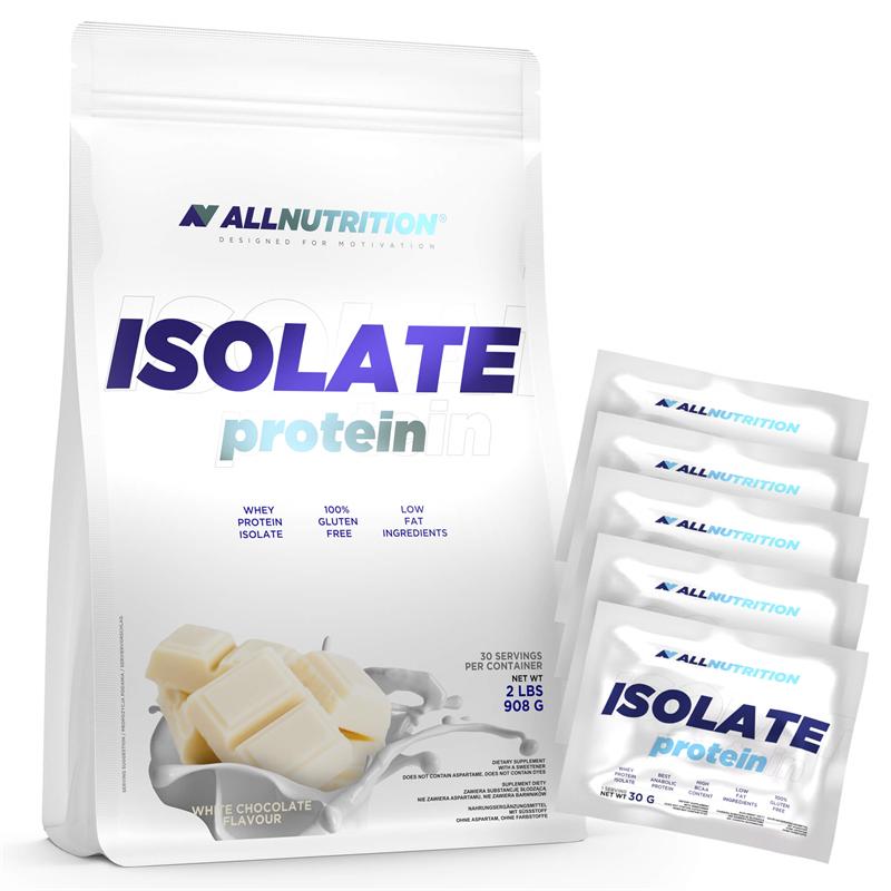 ALLNUTRITION Isolate Protein + 5x Próbek