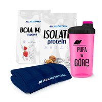 Isolate Protein + BCAA Max Support + Ręcznik
