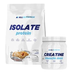 KD-Allnutrition Isolate Protein + Creatine Muscle Max - 2000g+500g