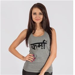 Karma Tank Top Grey Shadow