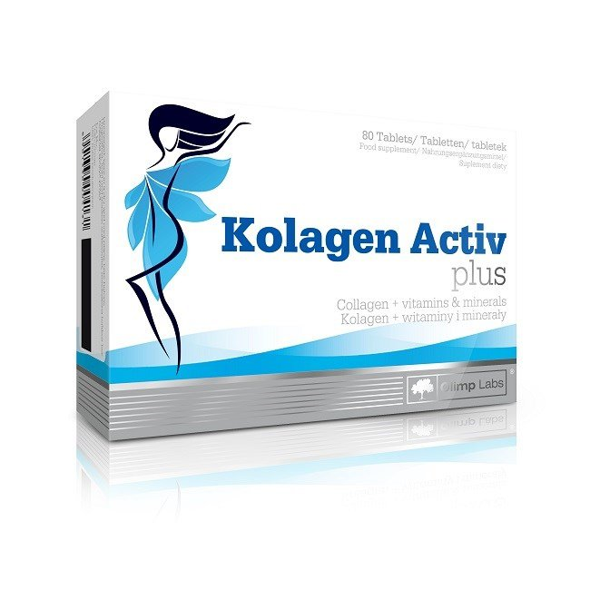20 pln kolagen activ plus 80tab olimp najtaniej for Kolagen w tabletkach