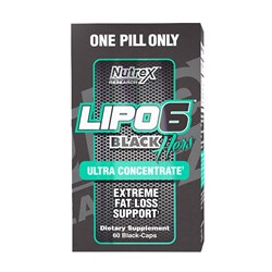Lipo 6 Black Hers Ultra Concentrate - 60kap