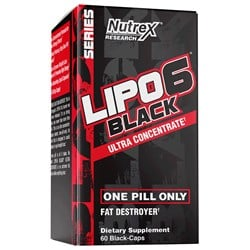 Lipo 6 Black Ultra Concentrate - 60kap