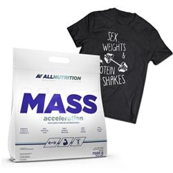 Mass Acceleration + T-shirt Sex - 7000g+1szt