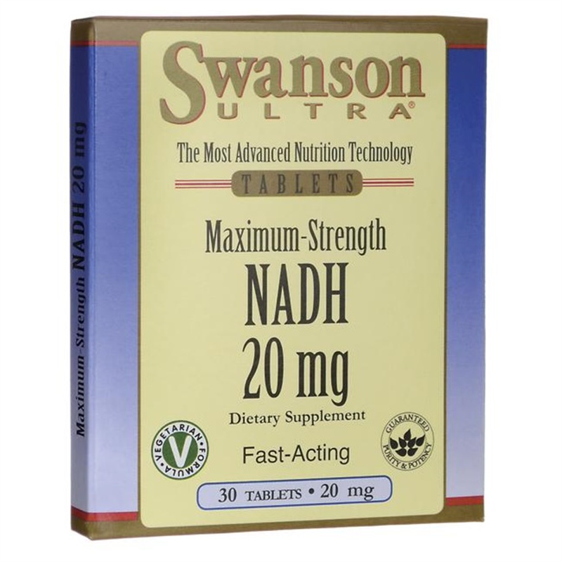 Swanson Maximum Strength NADH Fast-Acting