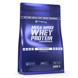 Mega Mass Whey Protein Concentrate - 3000g