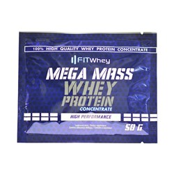 Mega Mass Whey Protein Concentrate - 50g