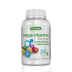 Mega Vitamins for MEN 60tabs - 60tabs