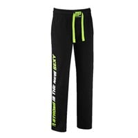 MusclePharm MPLPNT453 - SWEAT PANTS BLACK LIME