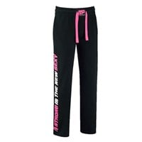 MusclePharm MPLPNT453 - SWEAT PANTS BLACK PINK