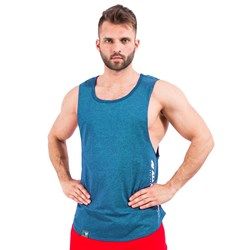 Muscle Tank Top Blue