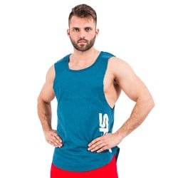 Muscle Tank Top Blue - 1szt
