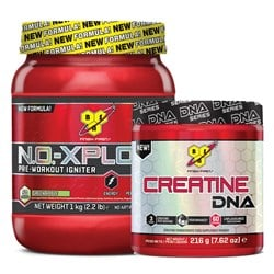 N.O.-Xplode 3.0 + Creatine DNA - 1000g+216g