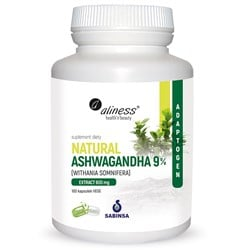Natural Ashwaganda 600 mg 9%
