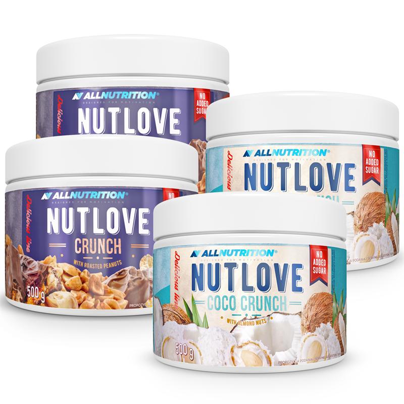ALLNUTRITION Nutlove 500g 3+1 GRATIS