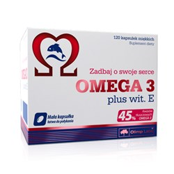 OMEGA 3 plus wit. E  - 120kap