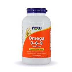 Omega 3 6 9  - 250softgels