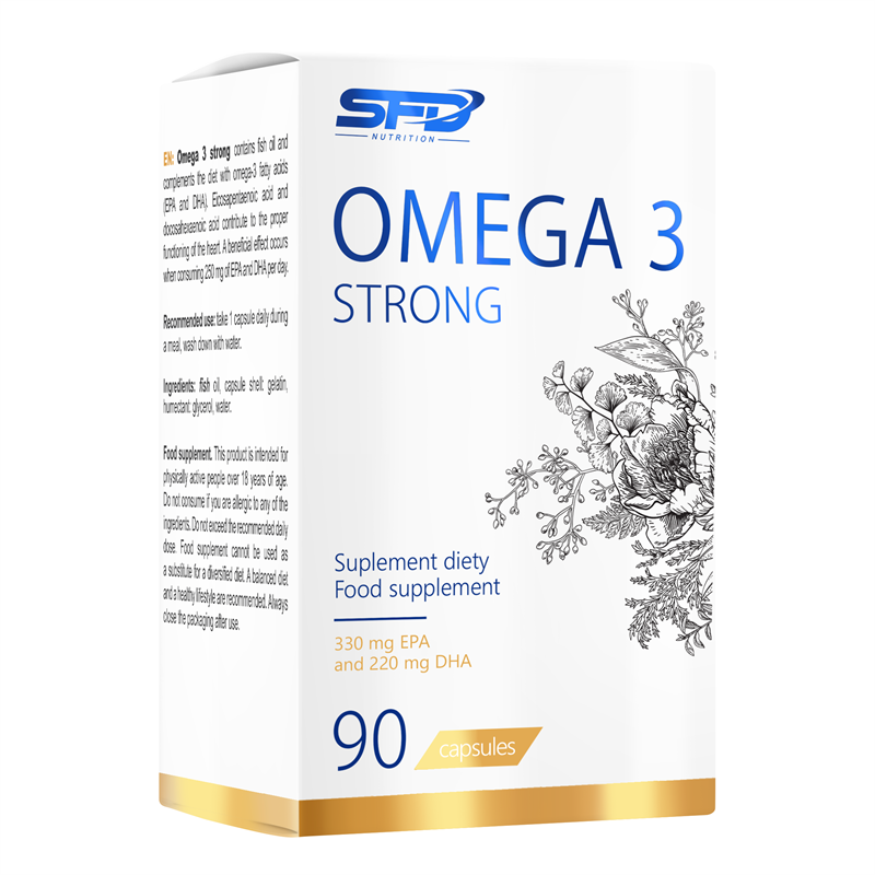 SFD NUTRITION Omega 3 Strong