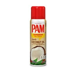 PAM cooking spray Coconut Oil