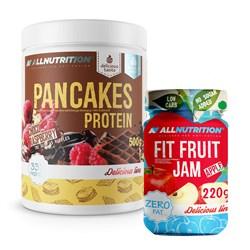 Pancakes Protein 500g + Fit Fruit Jam 220g