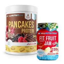 Pancakes Protein + Fit Fruit Jam