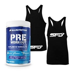 Pre Workout Pro Series + Tank Top Logo - 600g+1szt