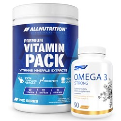 Premium Vitamin Pack 280tab + Omega 3 Strong 90softgels