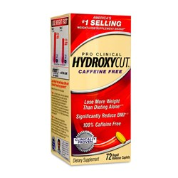 Pro Clinical Hydroxycut Caffeine Free - 72Rapid Release Caplets