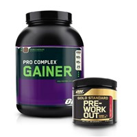 Pro Complex Gainer 12.2016 + Gold Standard Pre-Workout
