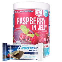 Raspberry In Jelly + Protein Wafer - 1000g+35g