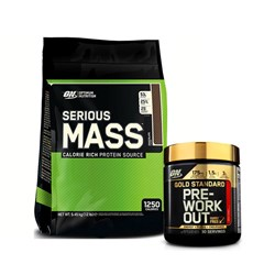 Serious Mass + Pre-Workout - 5500g+330g