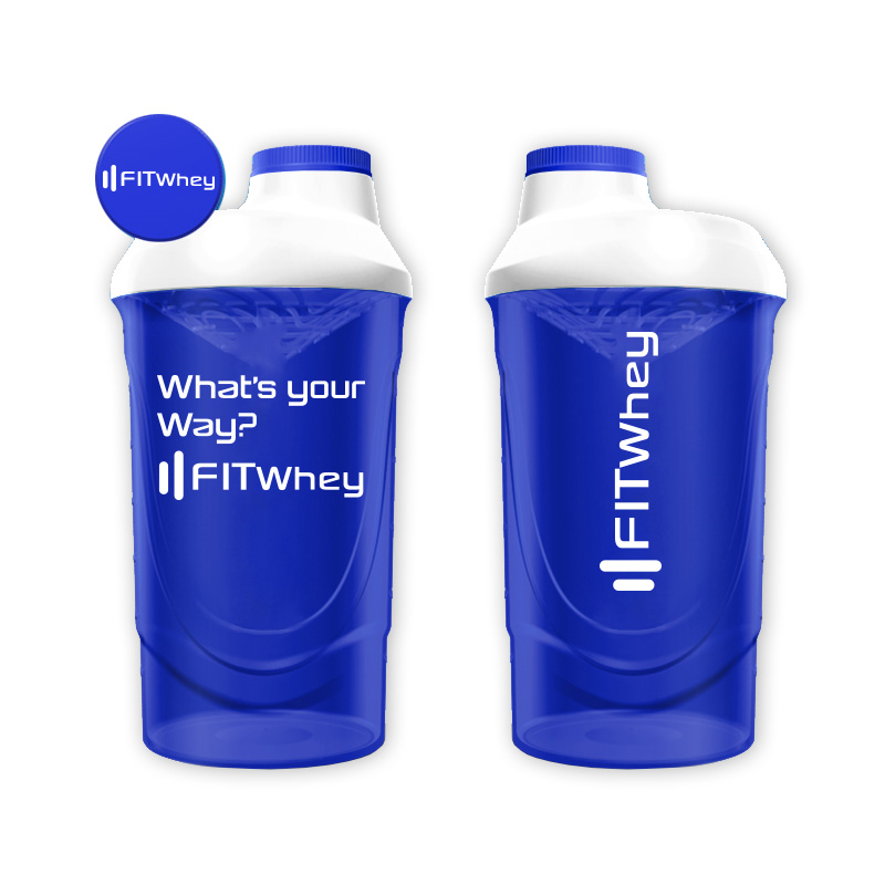 FitWhey Shaker What's your Way?