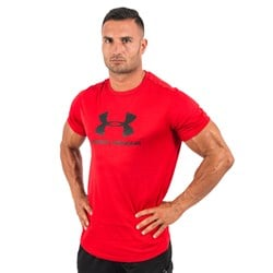 Sportstyle Branded Tee Red - 1szt
